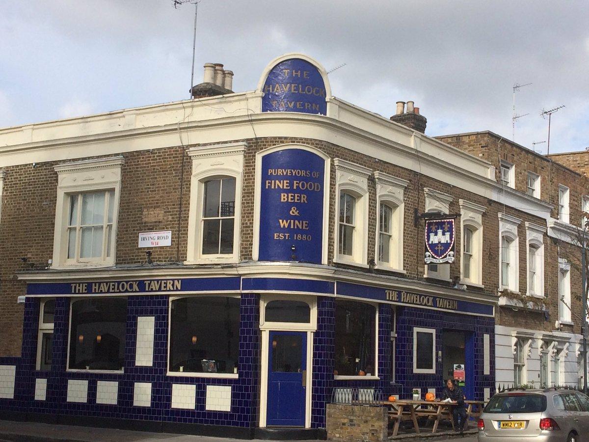 The Havelock Tavern London's best kept secret gastropubs