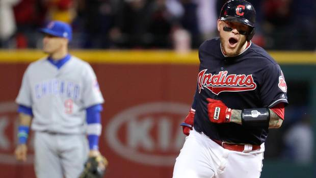 Kluber, Perez, Indians beat Cubs in World Series opener From @Globe_Sports