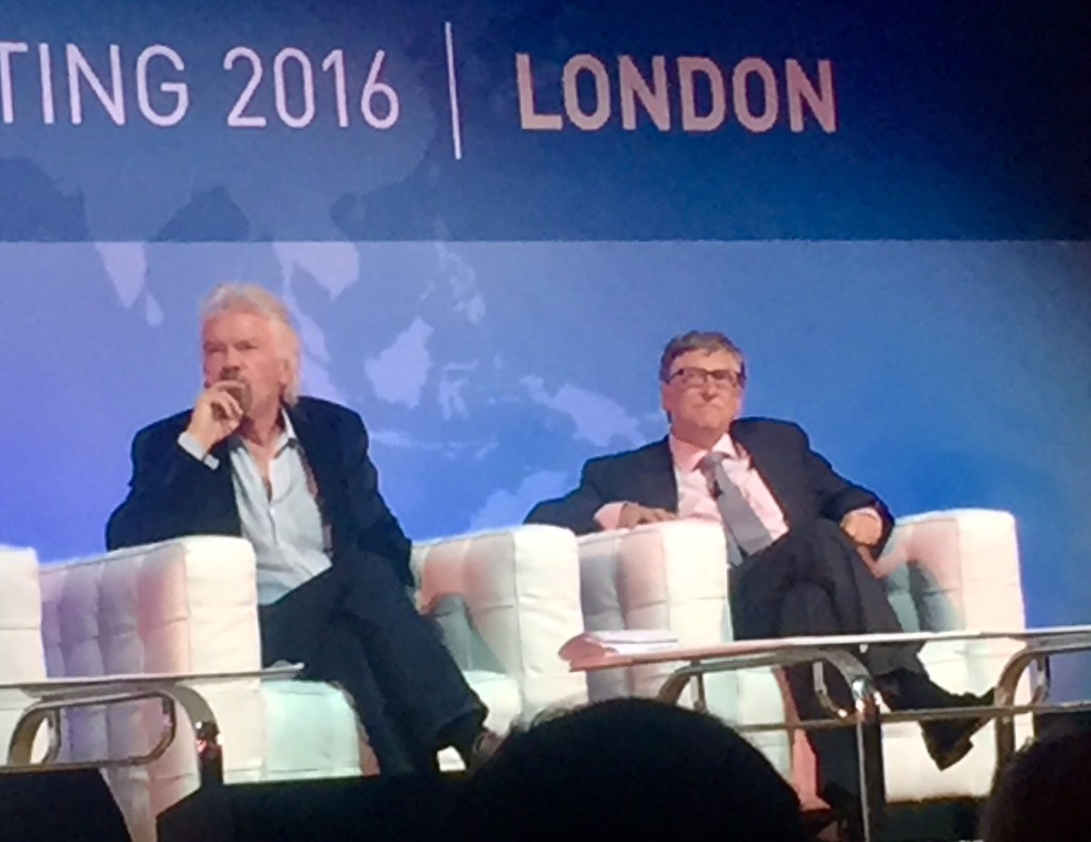 """""""The world needs innovative leadership now more than ever…"""" Bill Gates #GrandChallenges #gc2016 #socent https://t.co/38I6HjnzRd"""