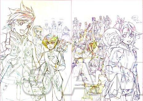 BD-BOX「テイルズ オブ ゼスティリア ザ クロス」ufo限定版の集合ポスターが公開、限定版には追加特典も発表!