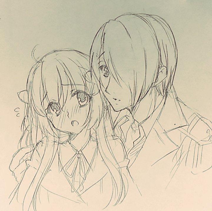 墨ノ宮「愛ヶ崎さんの・・・髪・・・いい書が、書けそう・・・」小花「わっ私の髪を筆にしようとしないでくださいッ!!」墨ノ宮