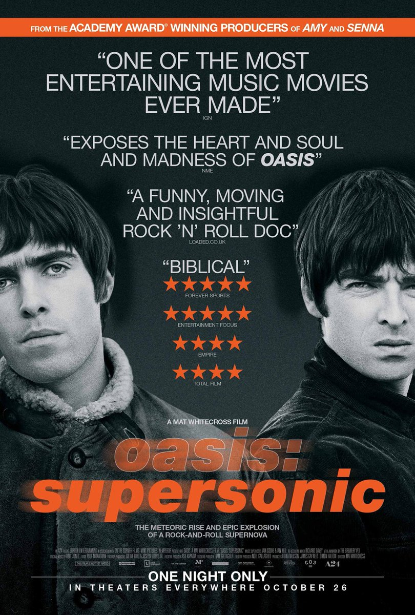 USA! SUPERSONIC's in movie theat
