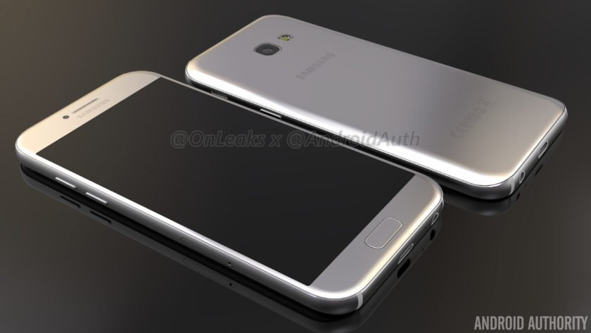 Exclusive: #samsung Galaxy A5 (2017) renders and video leaked...