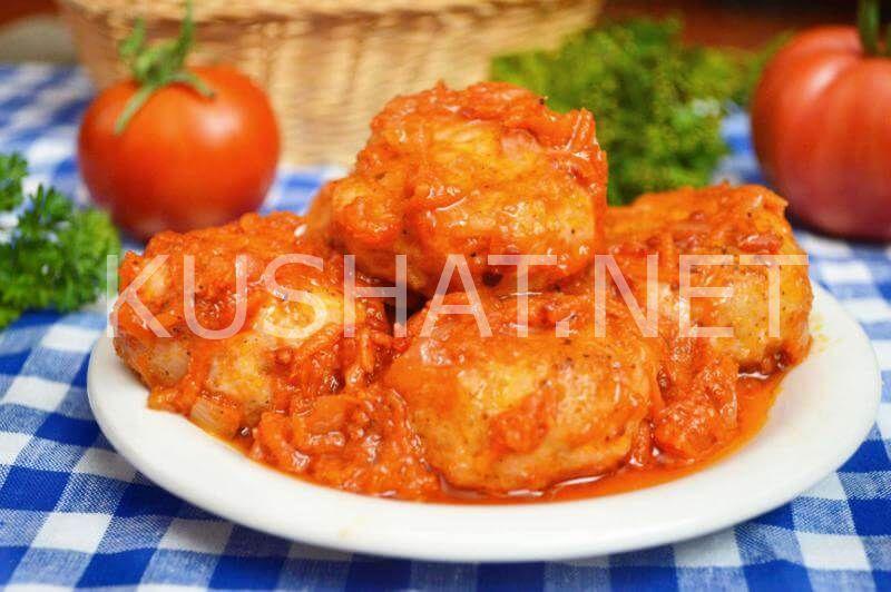 Тефтельки в томатном соусе рецепт с пошагово