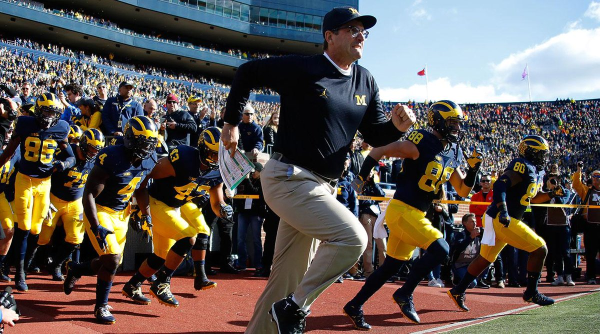 Jim Harbaugh tops the list of highest-paid college football coaches https://t.co/53AbyoJtX3 https://t.co/iLAYvWklDL