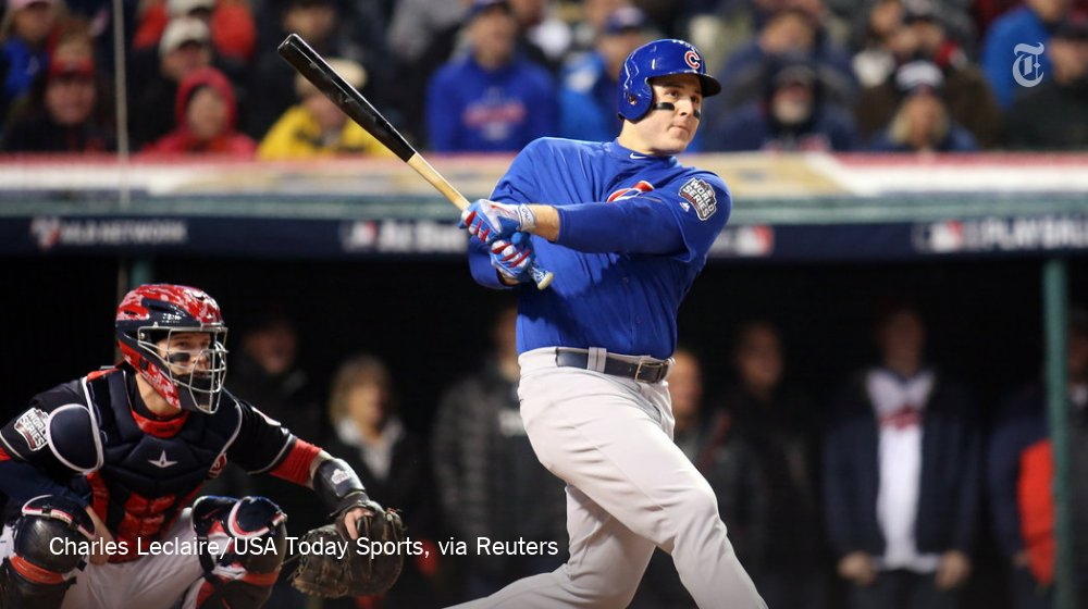 Cubs open up a 1-0 lead over the Indians in World Series Game 2. Live updates here: