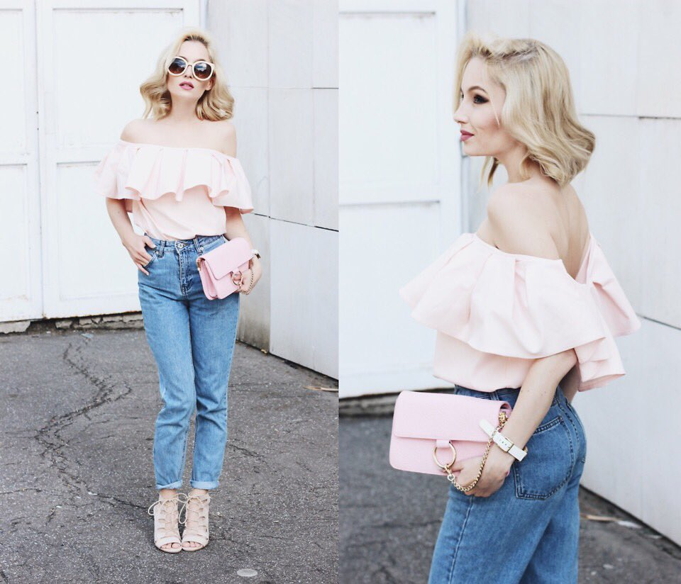 """""""PEACHY MORNING"""" by @chloefromwoods: https://t.co/xzTuv91Rtk #chic #romantic #street #ootd https://t.co/kNTtmPC7eY"""