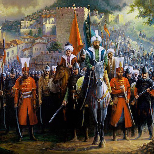 RT @osmanli_devleti: Fatih Sultan Mehmet'in Trabzon'a girişi, 26 Ekim 1461 https://t.co/1sV7gWgRMc
