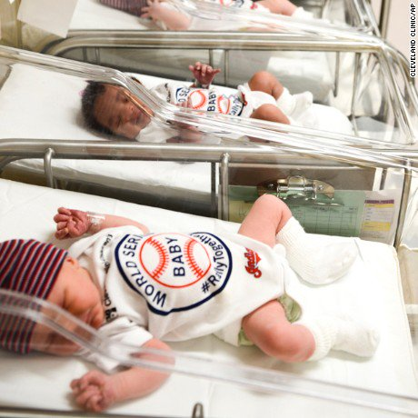 These World Series babies are getting special gear from hospitals