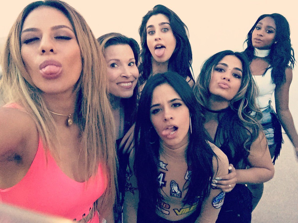 My #wcw today and everyday really! Love the ladies of @FifthHarmony!❤️