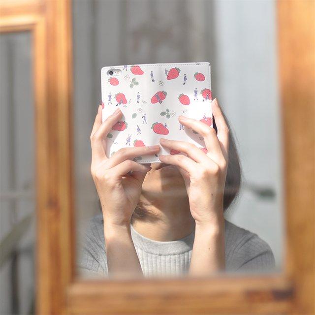 【刀剣乱舞-ONLINE-】x鬼頭祈さんコラボ 〈Gizmobies BOOK iPhone ケース(全3種)〉ついつい