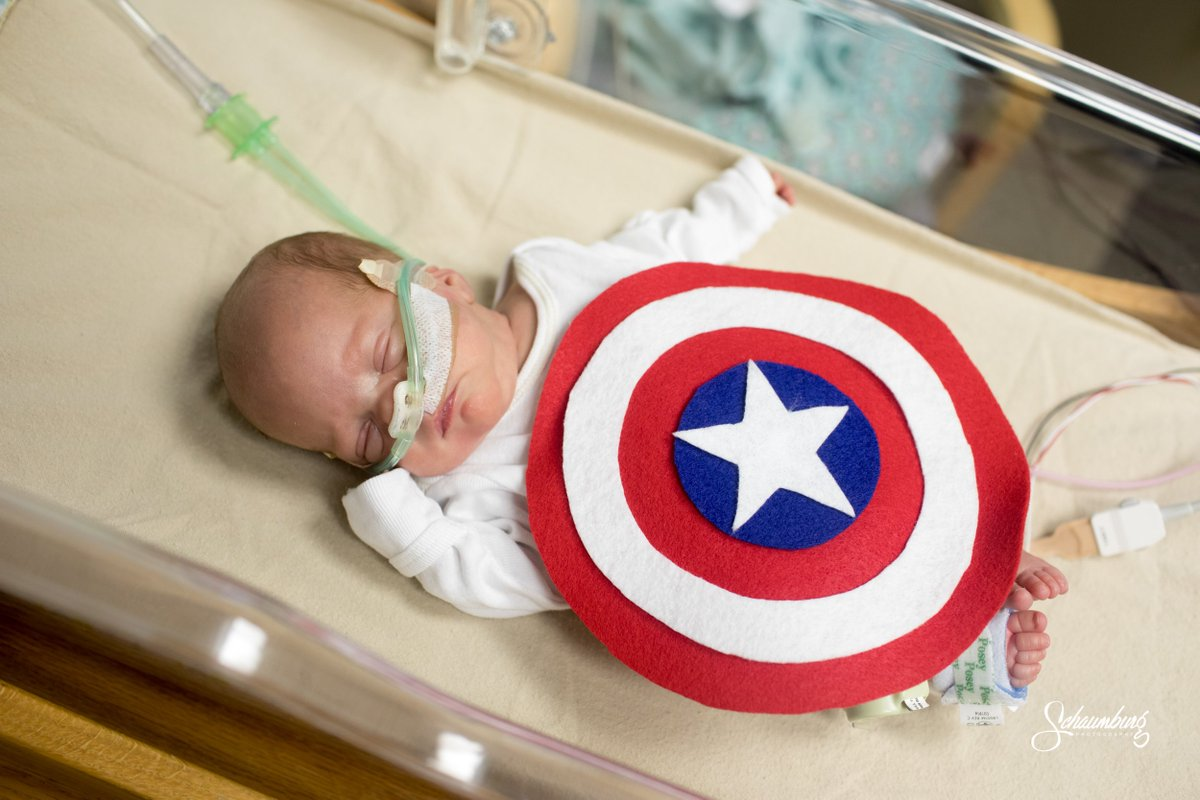 nurses dress infants in halloween costumes at neonatal intensive care unit at saint lukes hospital in