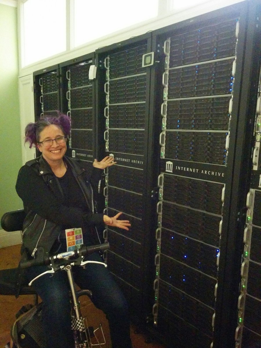 I love the Internet Archive!! Please donate to keep it going forever. Documentation power!! #ia20 https://t.co/H2SFDq0gOw