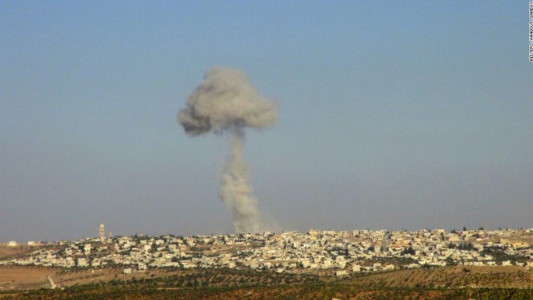 At least 35 people, including 11 children, have been killed in airstrikes on a school complex in northwestern Syria http://cnn.it/2eyeqGs
