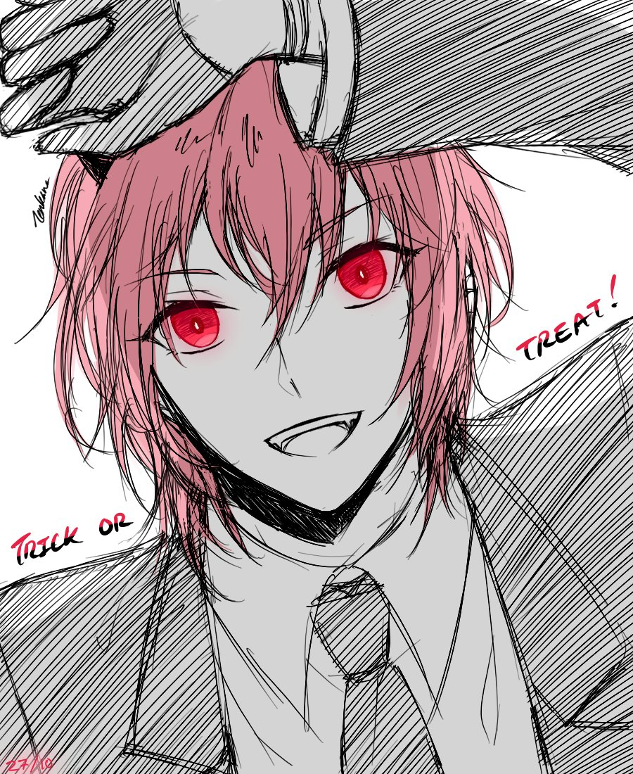 Happy Pretty Boy Day~Trick-Or-Treat!☆美男子の日〜 ❤ (らくがき、ごめん。orz)