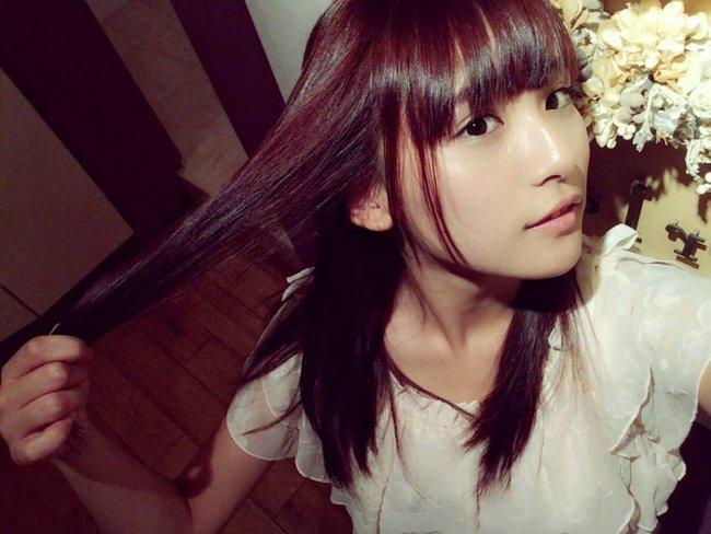 """スパガ・浅川梨奈がピンクに髪を染めたのは「咲−Saki−」の""""のどっち""""のためだった!  #SUPER_GiRLS #ス"""