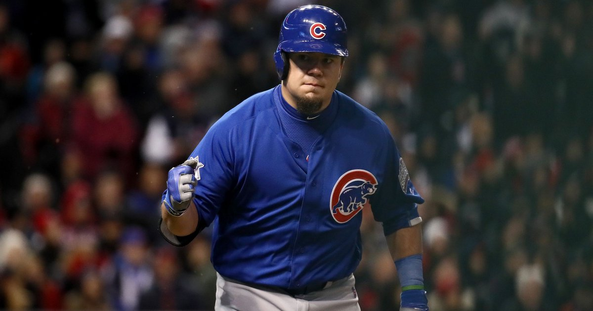 Kyle Schwarber defying odds, leads Cubs offense in Game 2 of World Series