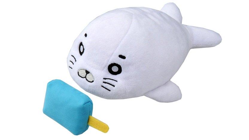 \好評発売中/アニメ「少年アシベGOGO!ゴマちゃん」よりぶるぶるゴマちゃんが登場!大好きなアイスを引っ張るとぶるぶるし