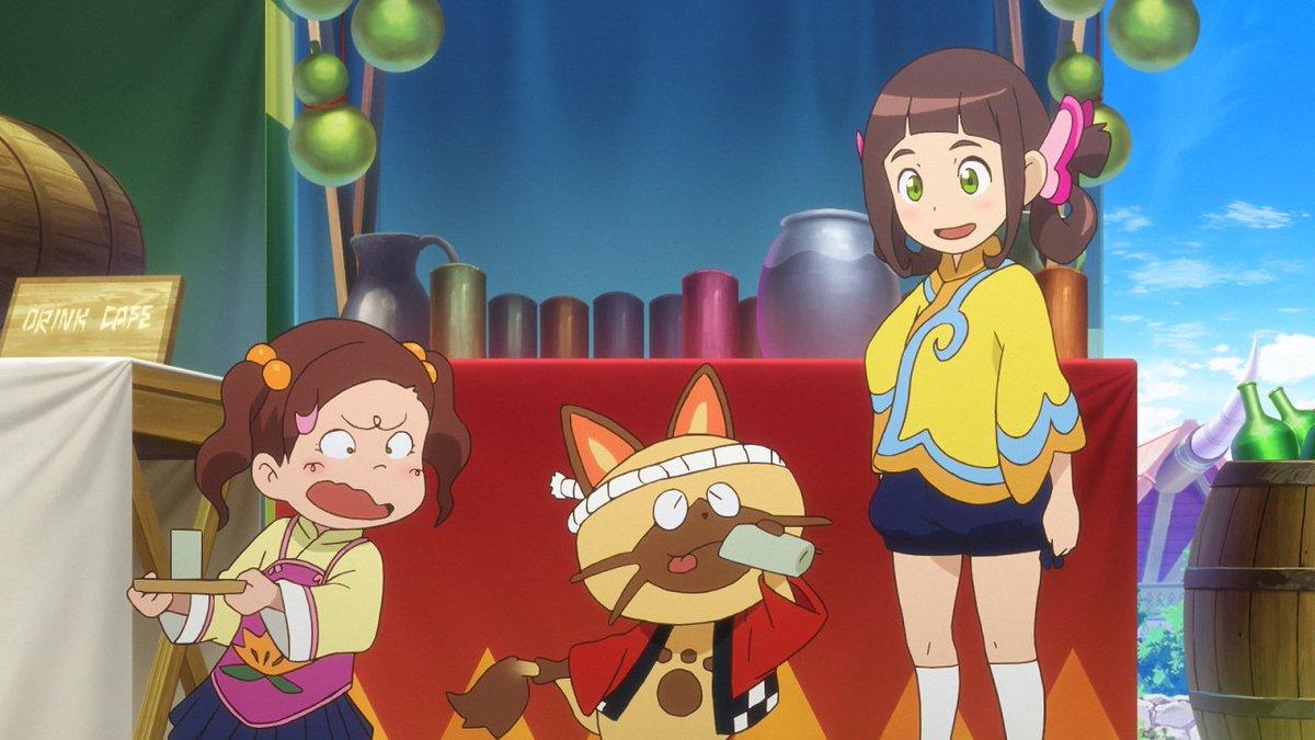 アニメ『モンスターハンター ストーリーズ RIDE ON』10月30日8時30分から放送だ!オトモンレースがハクム村で開