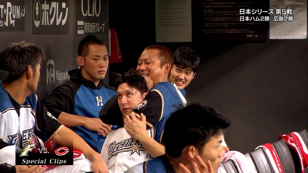 いますごい映像をBS1で流れた。  中田さんが杉谷くんを絞めている(笑)