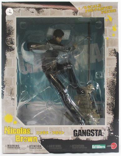「ARTFX J GANGSTA. ニコラス・ブラウン」魅力的な世界観とキャラクターが人気の作品からニコラスのフィギュア