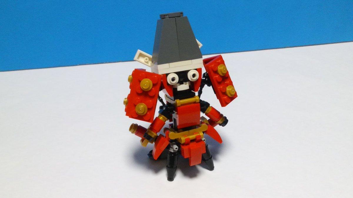 結城友奈は勇者である2期決定記念にレゴで義輝を作りました。去るもの、居るもの、そして新しく来るもののために、バトンが繋が