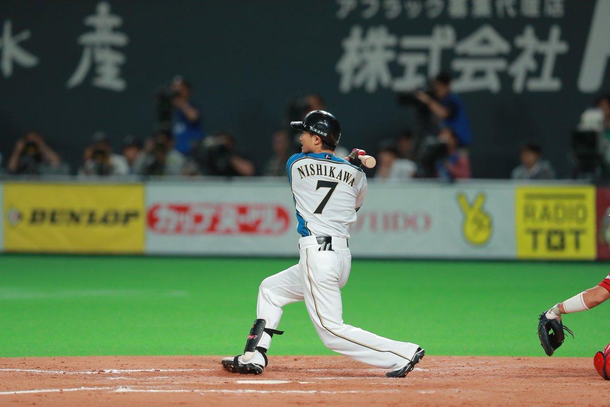 西川選手サヨナラのシーンの興奮を改めて!!! #lovefighters #宇宙一を目指せ #爆ぜる #日本シリーズ