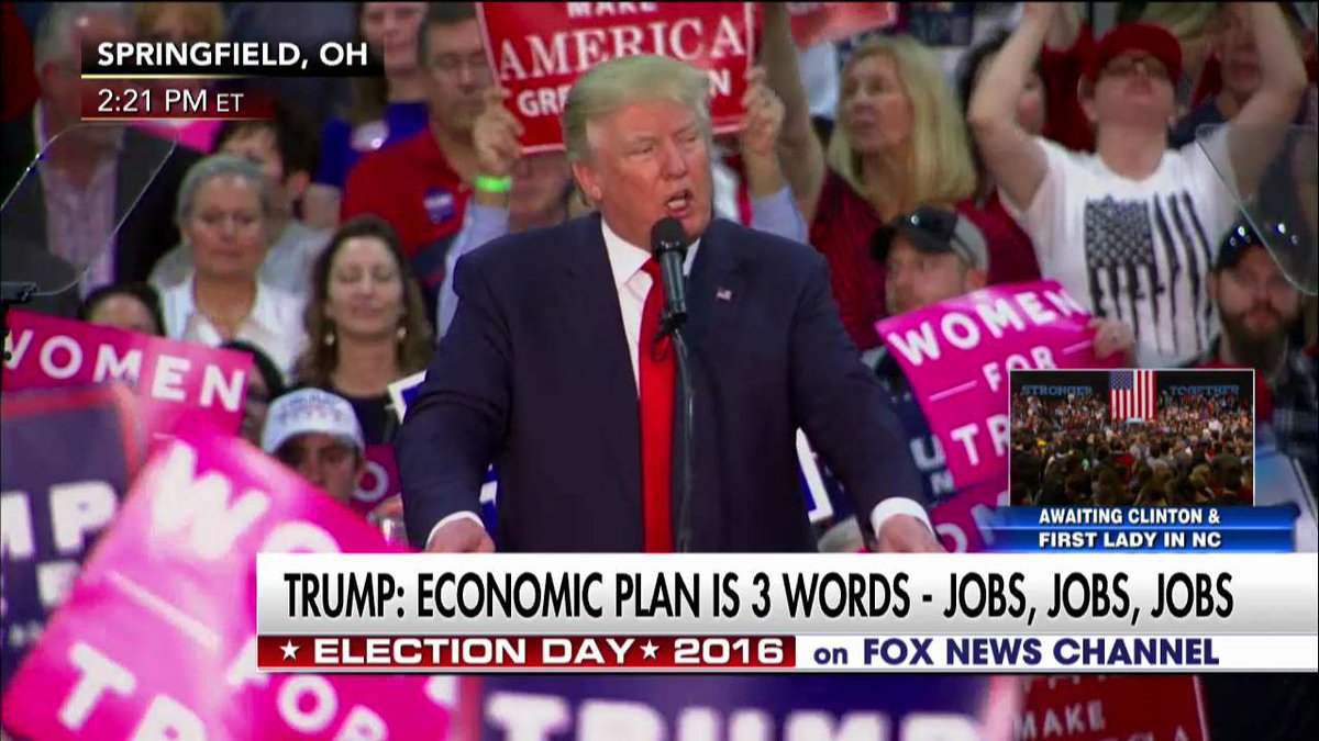 """.@realDonaldTrump """"We will be a rich nation once again."""""""