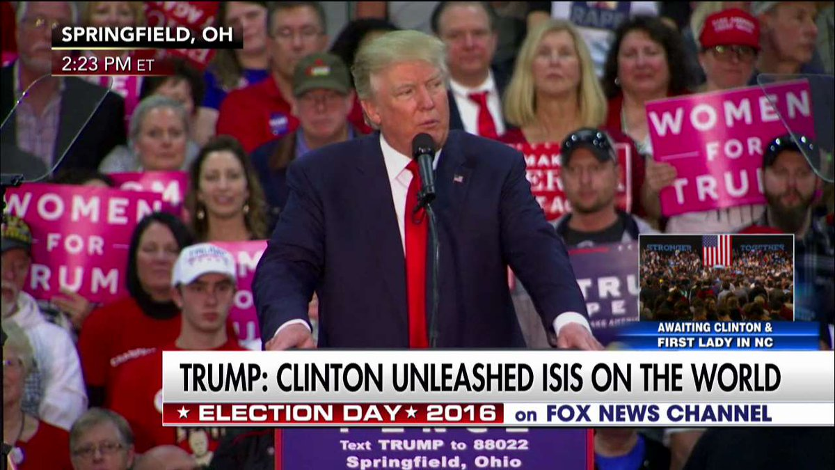 """.@realDonaldTrump """"Hillary wants massive immigration from the most dangerous regions of the world."""""""