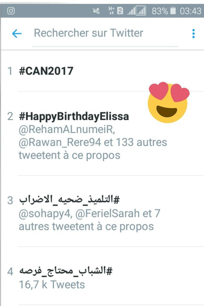 #HappyBirthdayElissa: Happy Birthday Elissa
