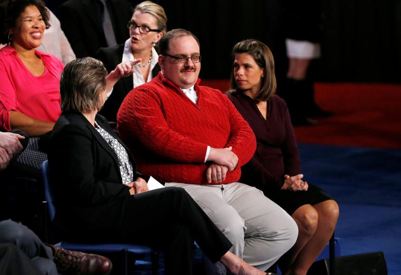 'Nasty woman' and Ken Bone: election's viral stars a hit for Halloween