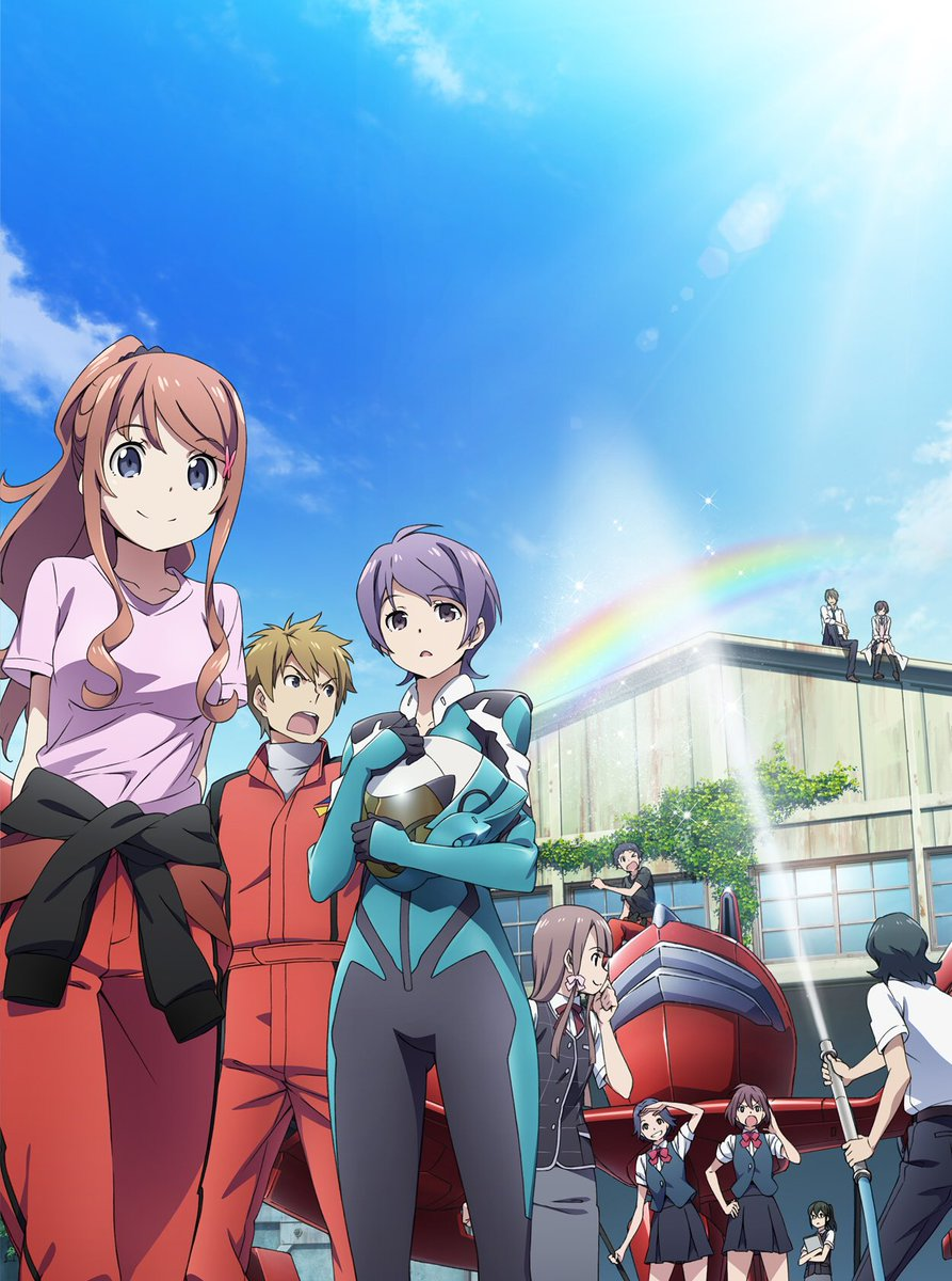 Classroom☆Crisisっていうアニメです!2015年夏に放送していました!キャラデザは俺妹と同じ方だから絵柄は