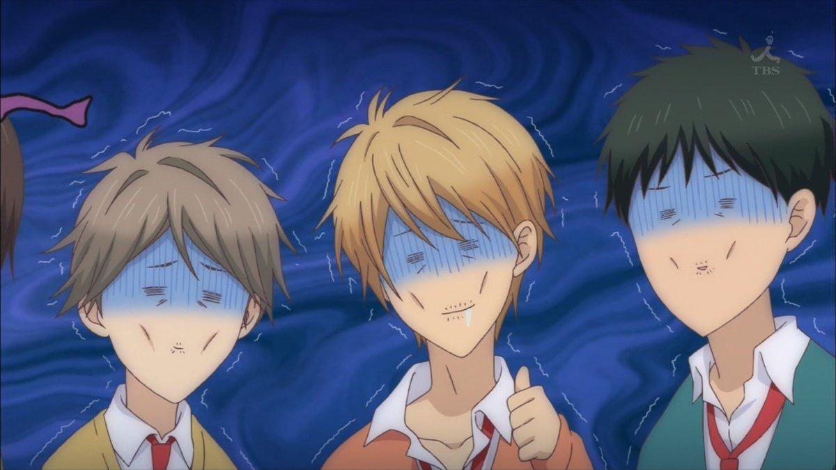 学園ハンサムかな? #私モテ #anime_watamote