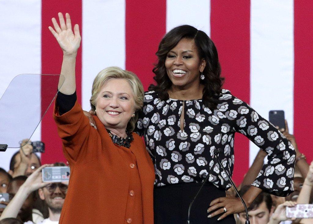 #HillaryClinton & #MichelleO