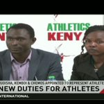 Rudisha, Kemboi & Chemos appointed to represent athletes