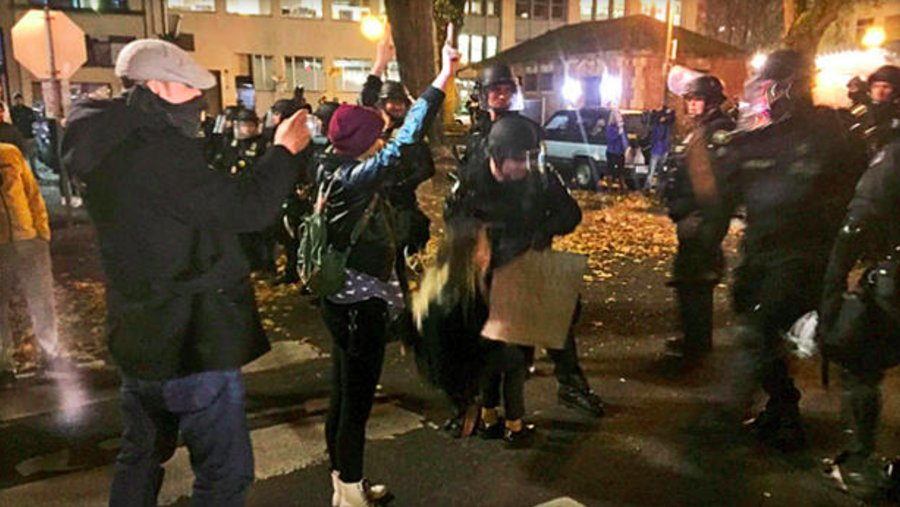 Riot declared in Portland, Oregon amid new wave of anti-Trump demos