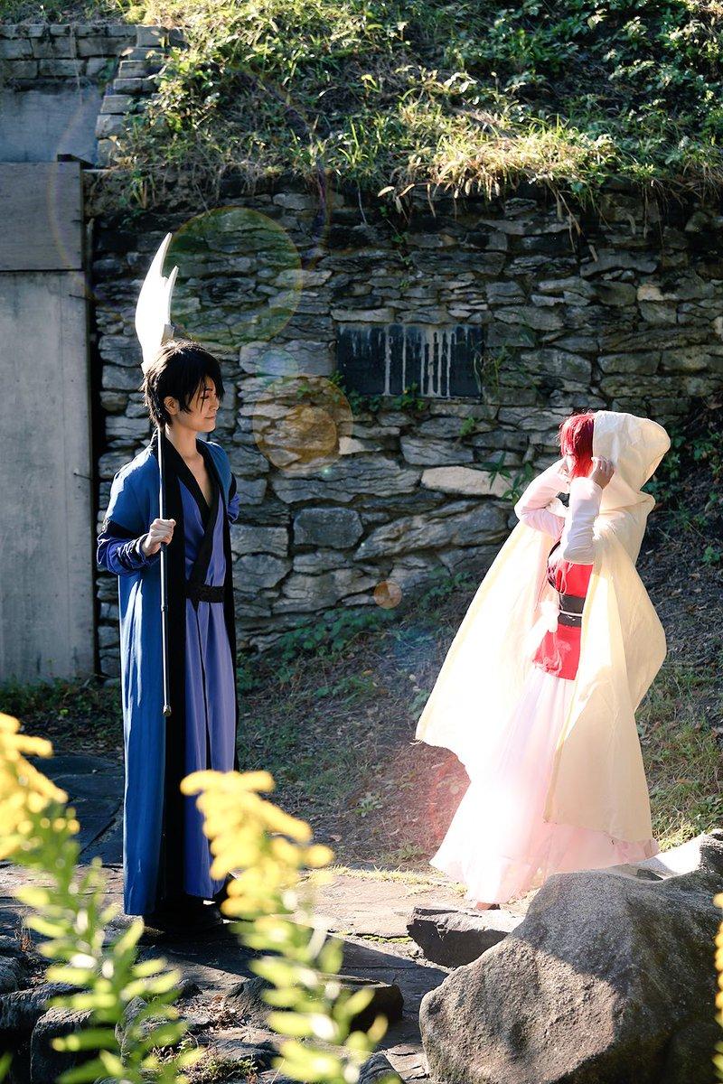 ♡ハクヨナLOVEショット4連続♡本誌の展開がもどかしい。。早く結婚しておくれ🙏😭✨❤️ハク:むつきヨナ:たかむらPho