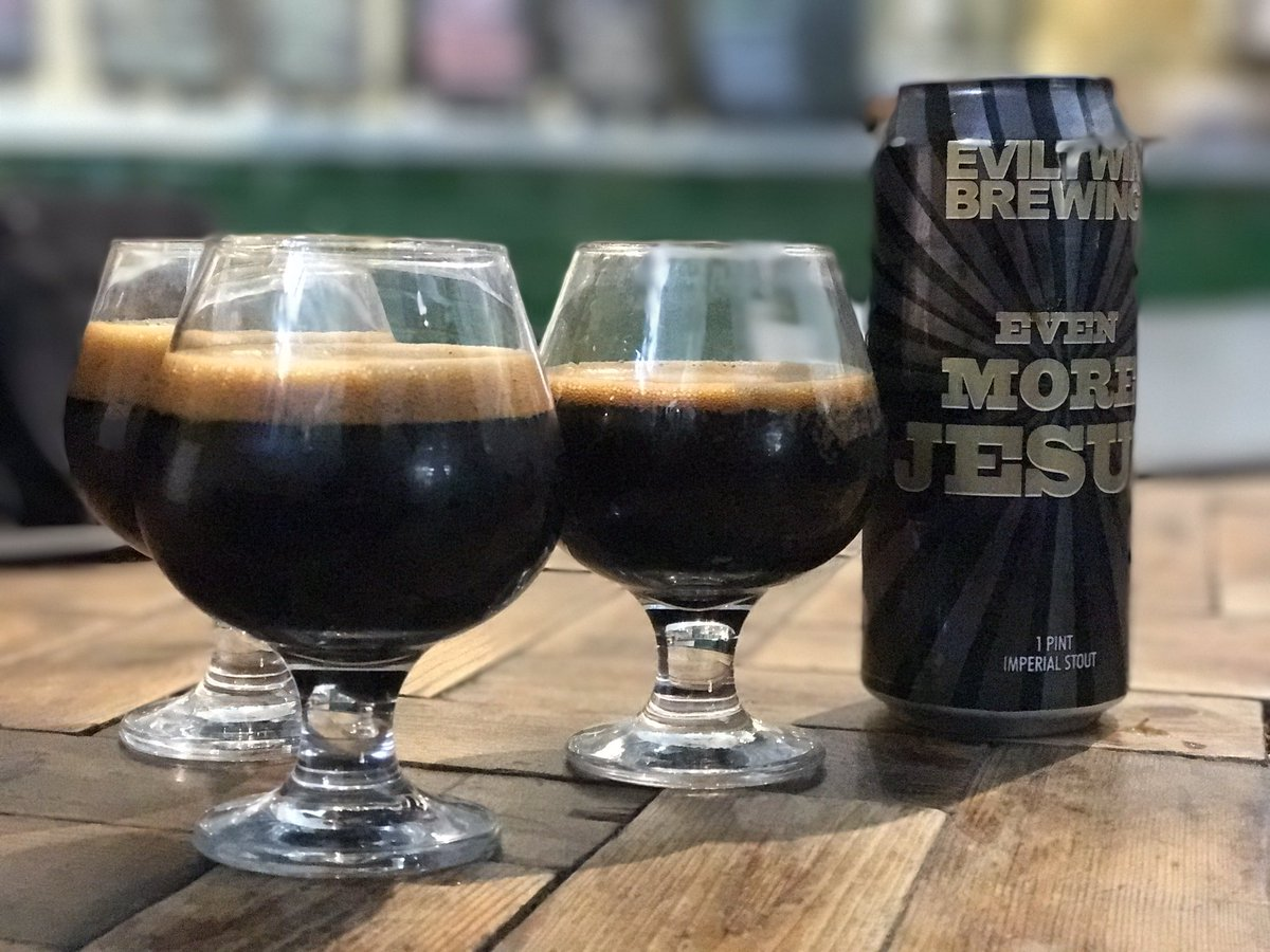 This was a little bit good. @Hunter_Sons @EvilTwinBrewing https://t.co/NVje4TBvfq