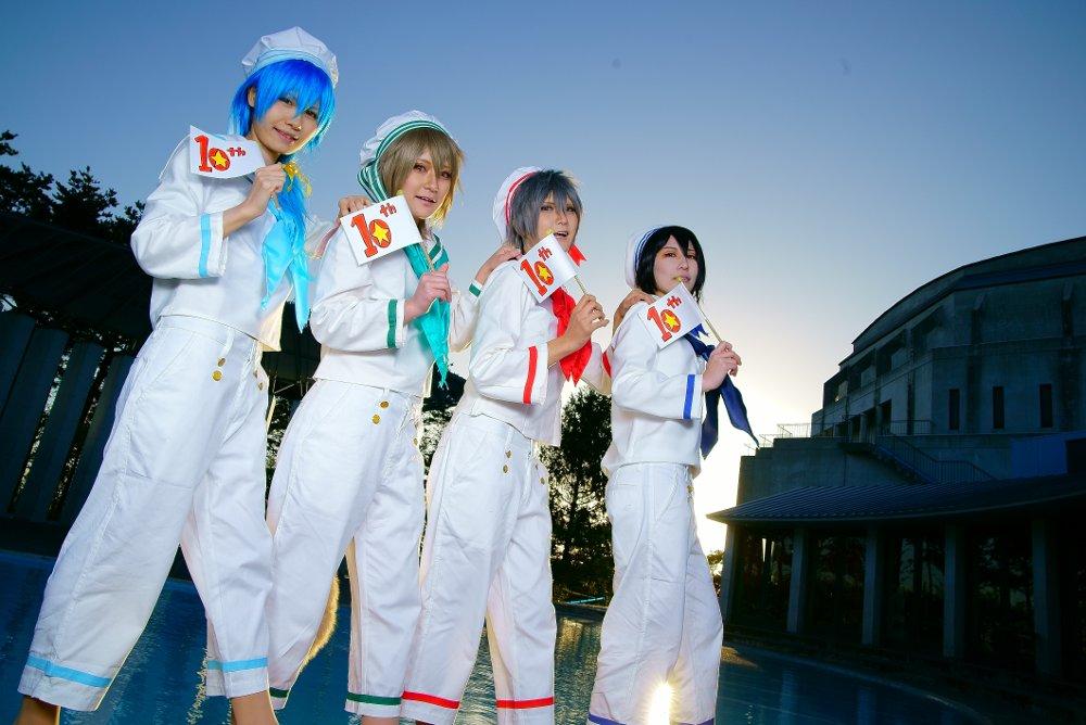 ※コスプレ!.Nitro+CHiRAL Fes.咎狗の血/アキラ(Ko-Ki)Lamento/コノエ(なるこ)sweet