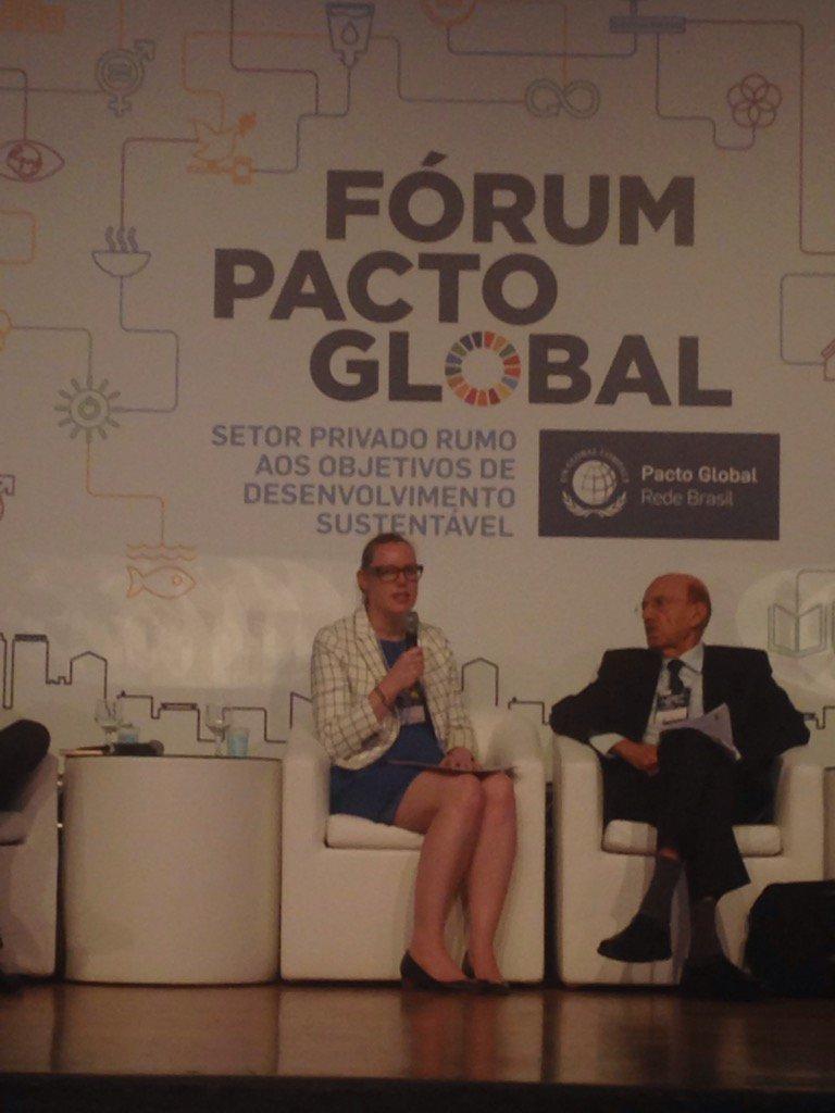 #ForumPactoGlobal: Forum Pacto Global