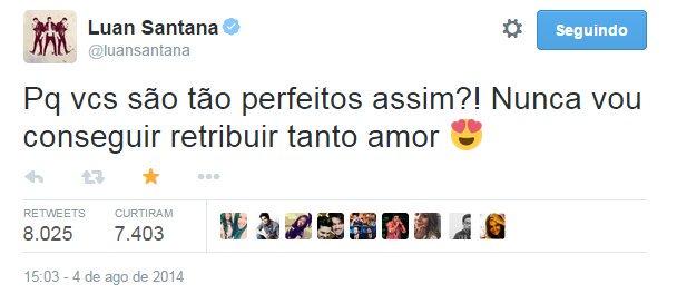#LuanSinonimoDeAmor: Luan Sinonimo De Amor