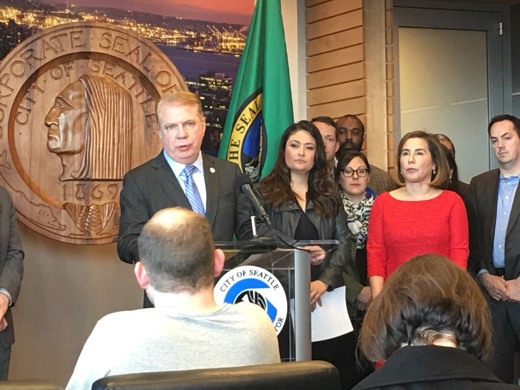 AFTER TRUMP: @MayorEdMurray says Seattle will remain a welcoming city for immigrants. https://t.co/CfHk30V8zG