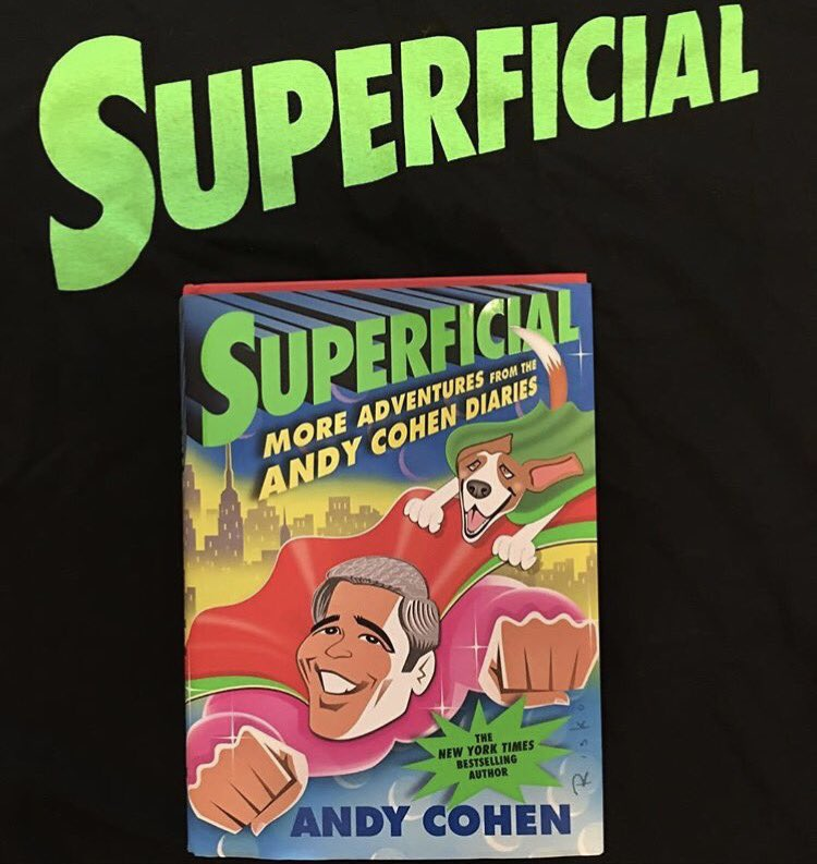 This!!!!!!!!! Thanks @Andy I can't wait to read your new book! This made me Happy Today!!! #iamsosuperficial ???? https://t.co/qwWXTeNHX4