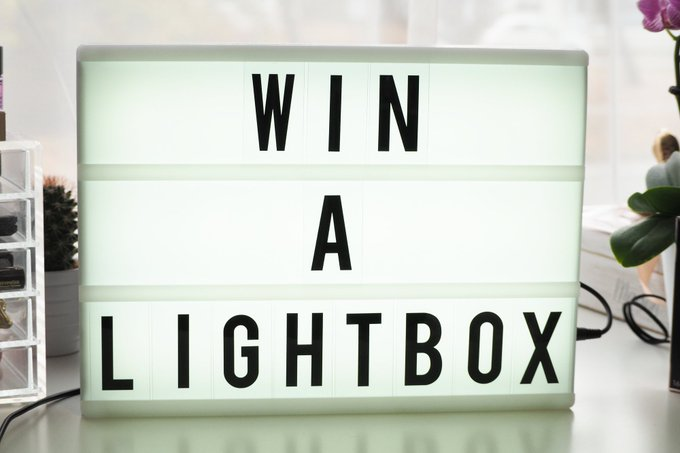 Win A Cinematic Lightbox