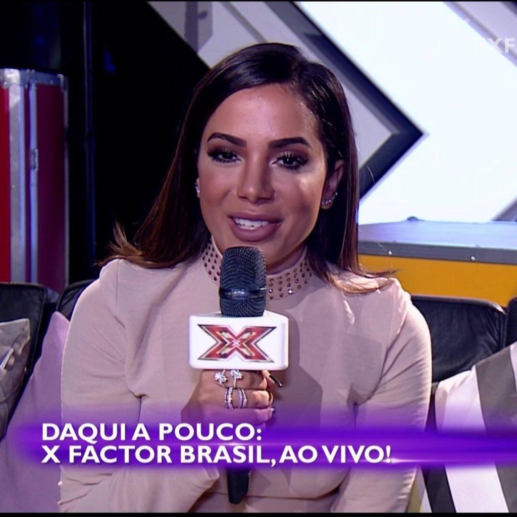 #AnittaNoXFactorBR: Anitta No X Factor BR