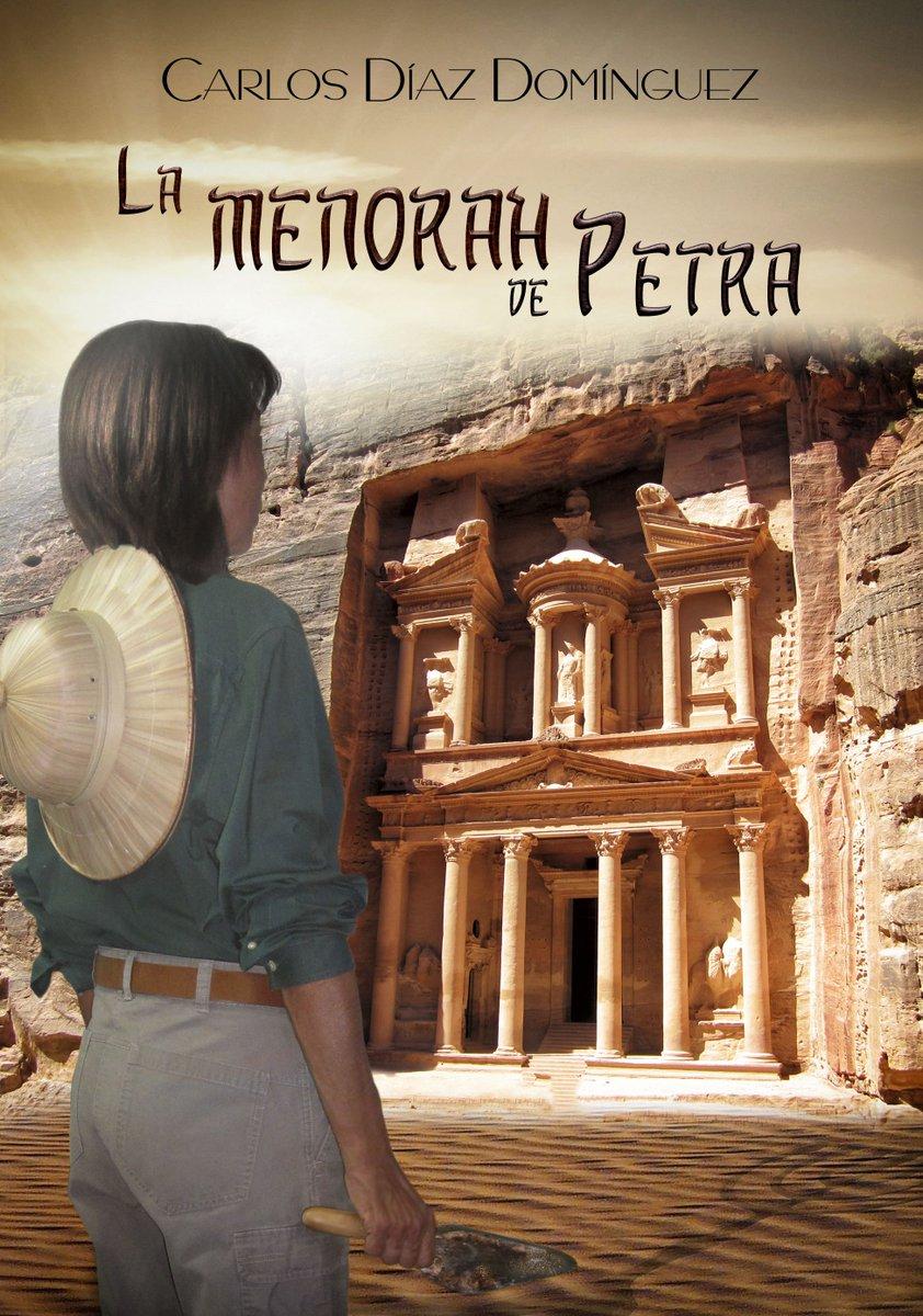 La menorah de Petra @carlosdd59 El primer libro ambientado en la capital del reino nabateo. https://t.co/GKiIF3JFUN https://t.co/7rtzMGXCwo