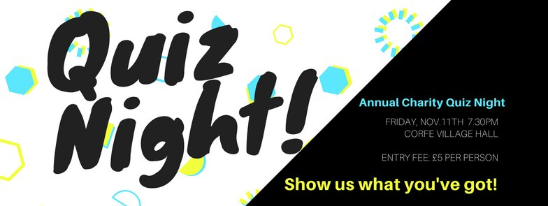 test Twitter Media - It's charity Quiz night tomorrow night. Are you swotting up? https://t.co/ApBZURpw26 https://t.co/3xMmgHqgvN