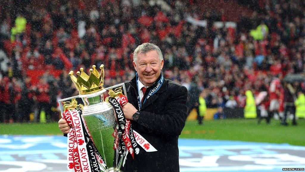 Teacups, tear ups and trebles: Sir Alex Ferguson's career at