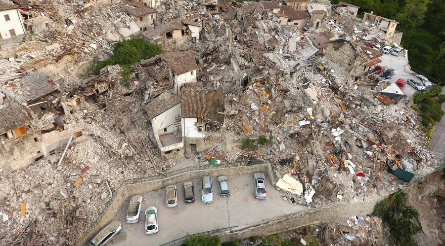 Russia was first to offer 'practical help' to Italy after earthquake