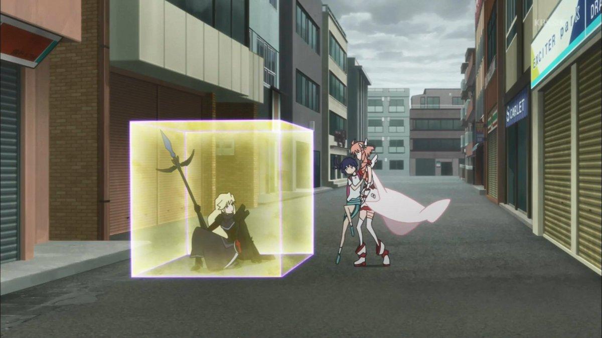 これもう結界師じゃん…#matoi_anime